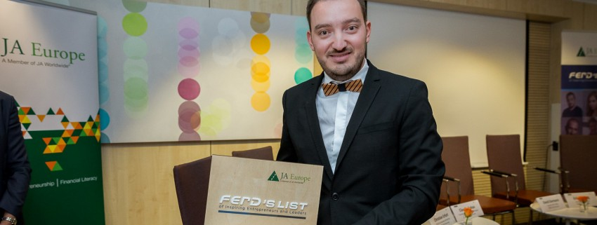 Алумни на JA България получи престижна европейска награда