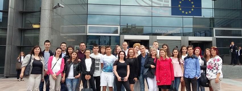 Отлично представяне на Noetic на състезанието на JA Европа в Брюксел