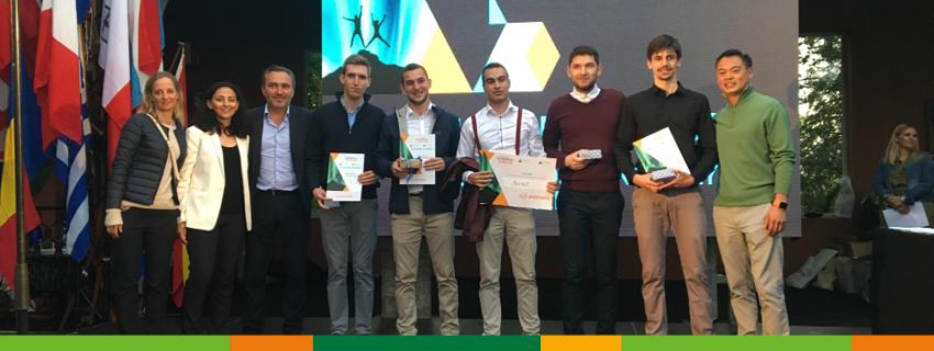 Най-добрият студентски стартъп на България Bevine се върна с награда за иновация от европейското състезание на Джуниър Ачийвмънт Европа