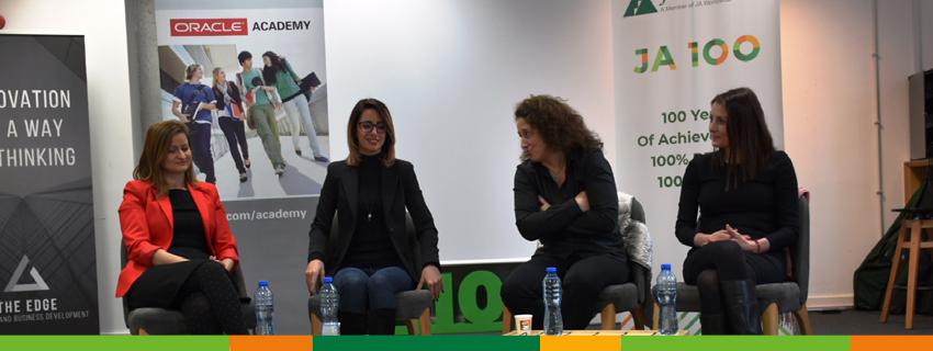 Специално събитие на JA България и Oracle Bulgaria в подкрепа на професионалната реализация на повече млади жени в технологиите
