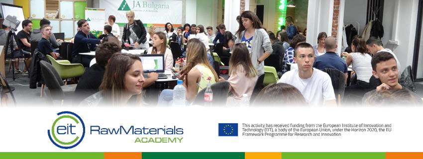 Включете се с вашата учебна компания в новата фаза на партньорския проект с EIT Raw Materials