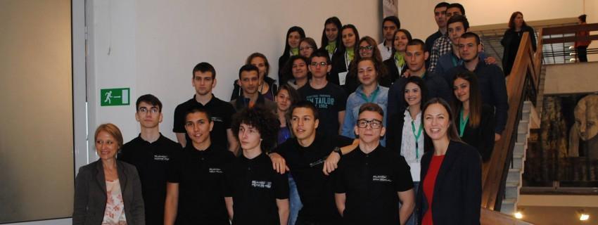 350 ученици се състезаваха с бизнес идеи в регионалните състезания на учебните компании на JA България