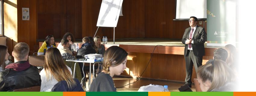 """60 младежи се включиха в иновационен лагер в Смолян по проект """"Към иновации и предприемачество чрез суровини и природни ресурси"""""""