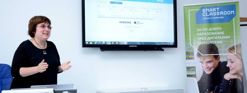 Нова онлайн платформа на Samsung в помощ на учителите за създаването на интерактивни уроци