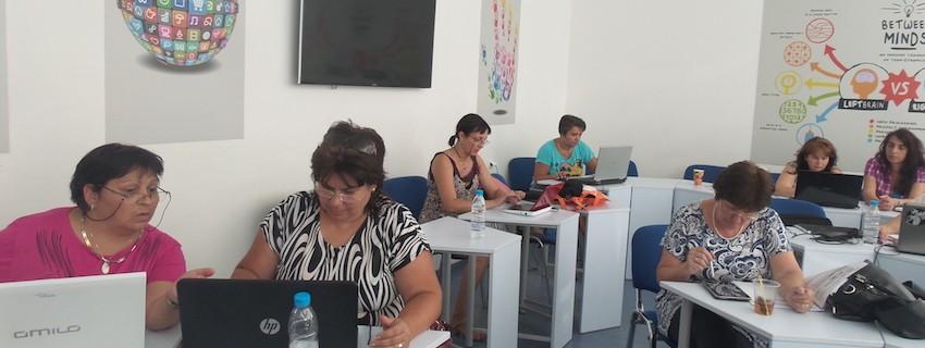 Повишаване на дигиталната компетентност на учителите и изграждане на умения за прилагане на смесено обучение (blended learning)