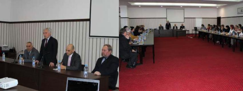 Среща с началници на регионални инспекторати по образование от цялата страна в Трявна