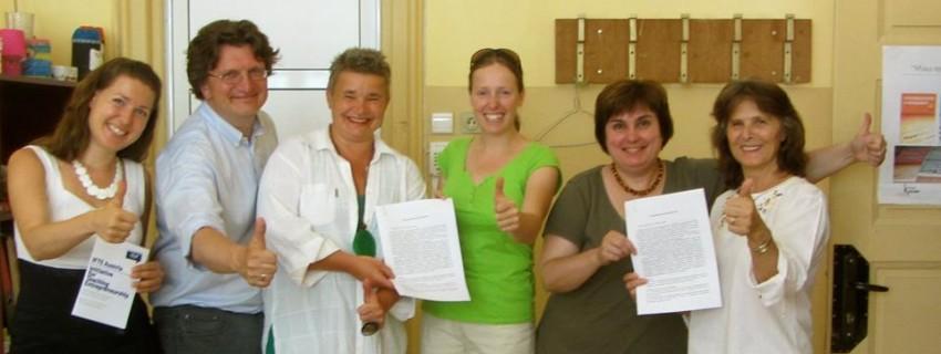 """Споразумение за сътрудничество по проект """"Младежки Старт България"""""""