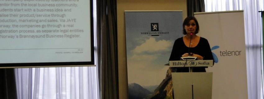 """""""Образование и бизнес"""" – форум в Норвежкото посолство с участието на ДАБ"""