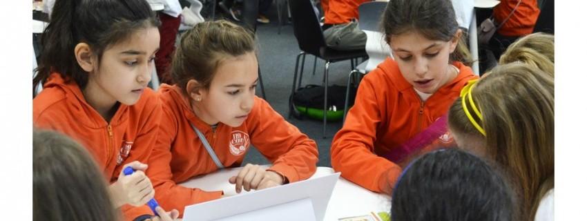 Джуниър иновационен лагер за Световната седмица на парите
