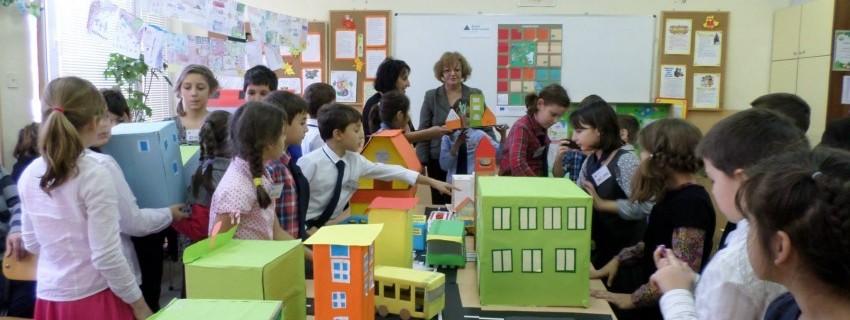Предприемачи от 3 клас представиха визия за по-добра градска среда пред Йорданка Фандъкова