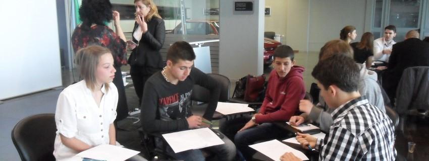Мастър клас по предприемачески умения за ученици от  професионални гимназии