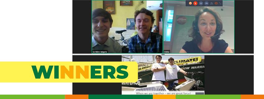 Българският екип So-Bikers е победител в международния финал на Социални иновации