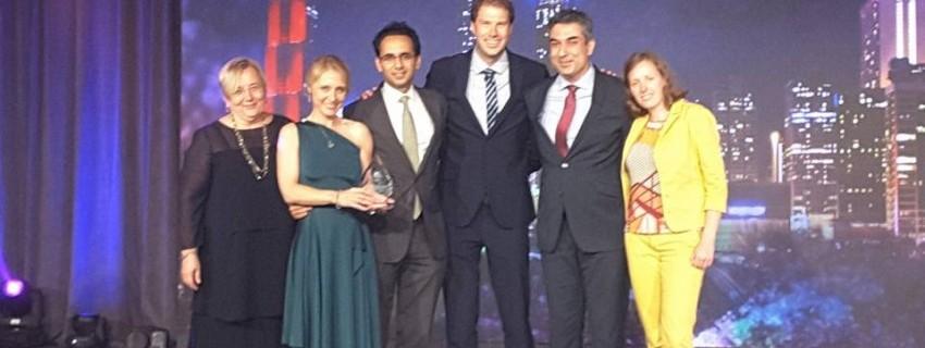 Проектът GREENT на JA спечели престижна награда
