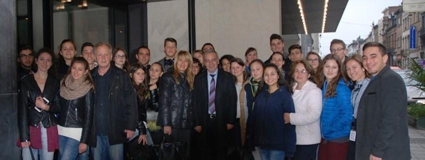 Победителите в конкурса по Агропредприемачество на работно посещение в Брюксел
