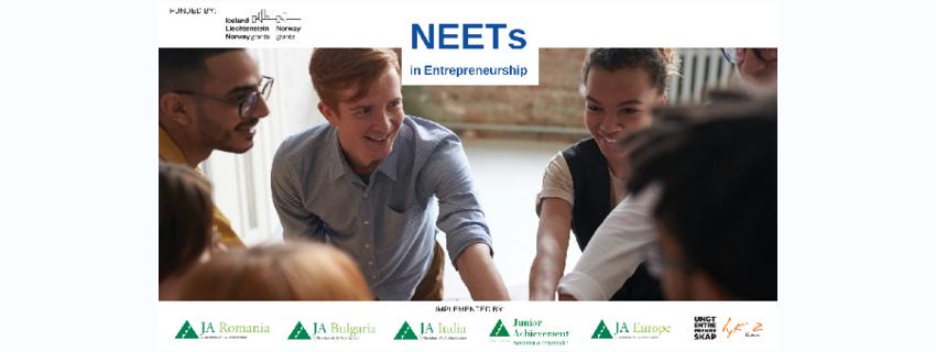 """Junior Achievement спомага на над 1600 младежи от Европа да започнат работа или да се превърнат в предприемачи чрез програмата """"NEETs in Entrepreneurship"""""""